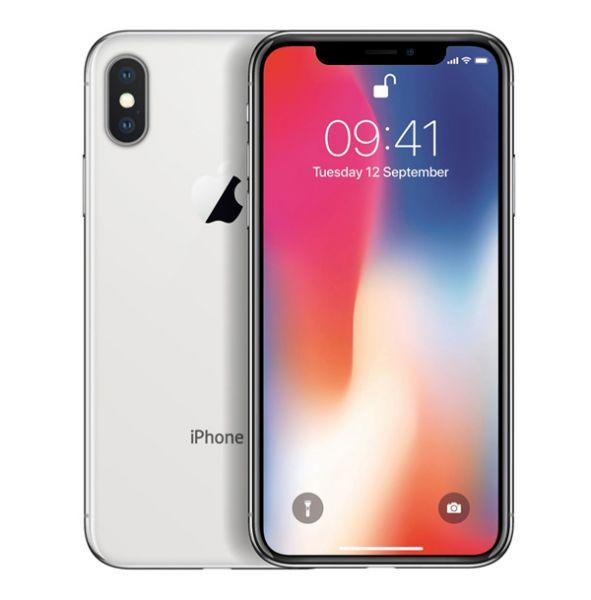 Apple iPhone X 256GB - Silber