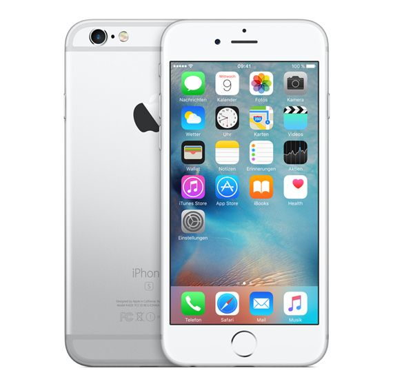 Apple iPhone 6s Plus 32GB Silber