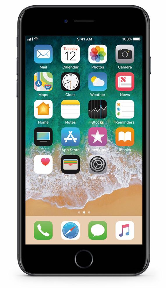apple iphone 7 plus 128gb schwarz gebraucht kaufen. Black Bedroom Furniture Sets. Home Design Ideas