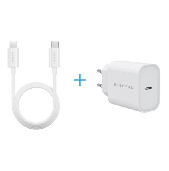 2in1 Speedcharger (Lightning Kabel + Usb-C Adapter)