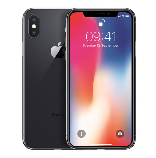 Apple iPhone X 256GB - Spacegrau