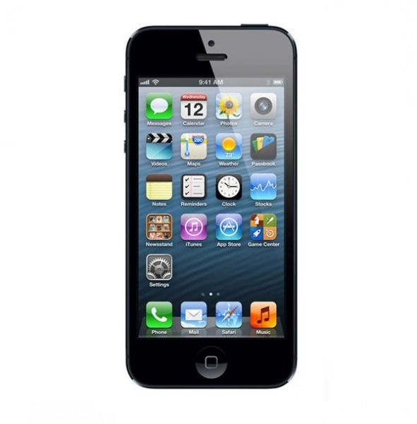 Apple iPhone 5 16GB Schwarz / Anthrazit