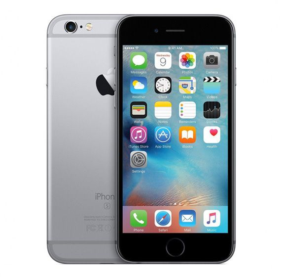 Apple iPhone 6s 128GB Spacegrau