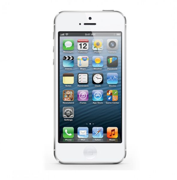 Apple iPhone 5 32GB Weiss / Silber