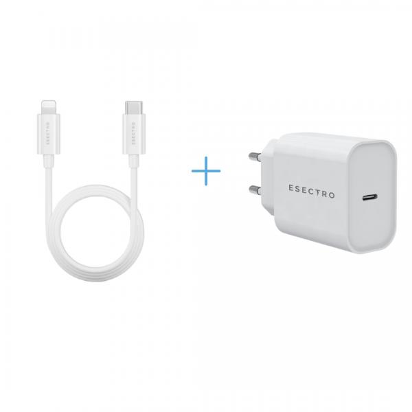 2in1 Speedcharger (Lightning Kabel + Usb-C Adapter)